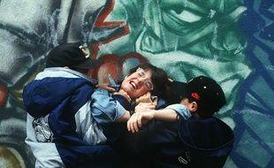 Un collégien agressé par d'autres élèves.