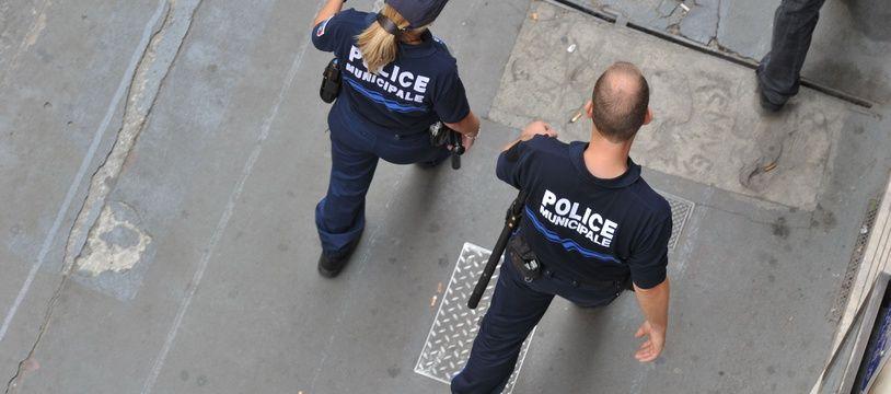 La police municipale, à Toulouse. (Illustration)