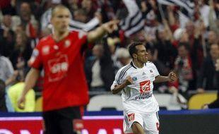 Eduardo auteur de deux buts permet à Guingamp d'enlever la Coupe de France aux dépends de Rennes, le 9 mai 2009