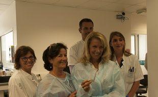 L'analyseur Rarecells a été mis au point par le professeur Patrizia Paterlini et son équipe.