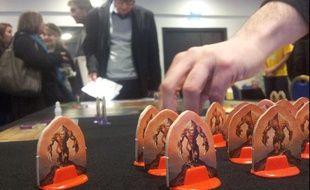 Andor, désigné «jeu de l'année» lors du Festival interbational des jeux, à Cannes. Février 2013.