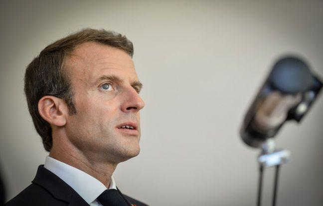 Affaire Benalla: «Une tempête dans un verre d'eau», estime Emmanuel Macron