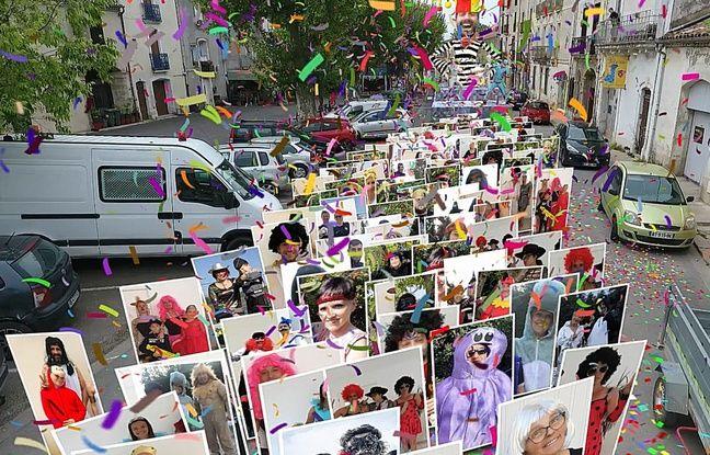 Coronavirus à Montpellier: Confinée, la population d'un village de l'Hérault se retrouve pour un carnaval virtuel