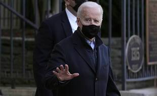 Le président américain Joe Biden, le 6 mars 2021.