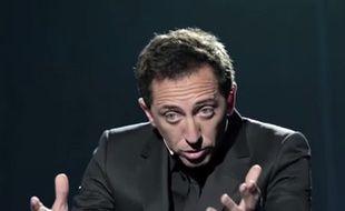 Capture d'écran de la pub de Gad Elmaleh pour LCL
