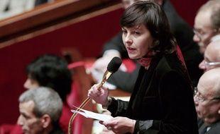Carole Delga le 30 janvier 2013 à l'Assemblée.