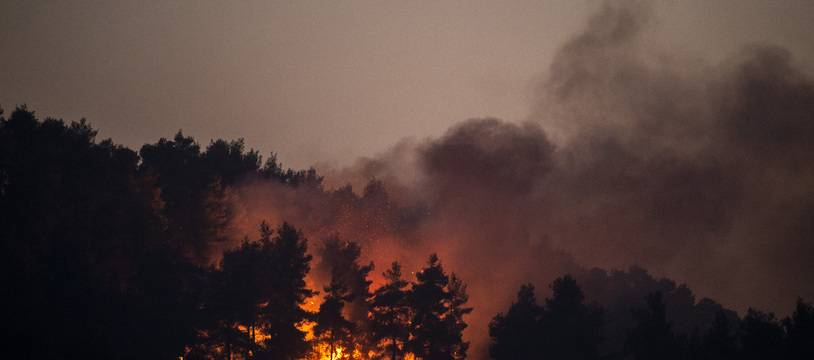 La Grèce connaît les pires incendies depuis 2007.