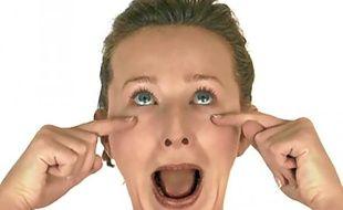 A raison de cinq minutes matin et soir, la méthode de gymnastique faciale promet des progrès visibles en cinq jours.
