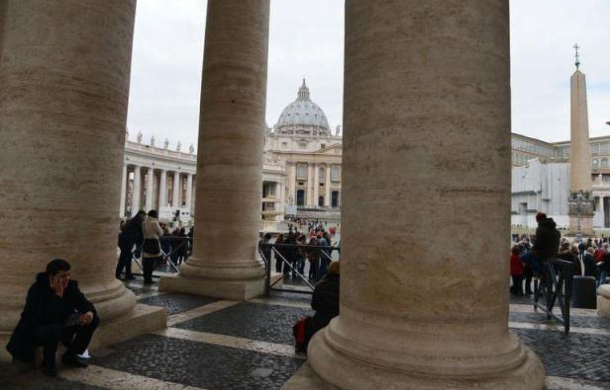 """Le porte-parole du Vatican s'en est pris violemment samedi aux articles de presse faisant état d'intrigues dans les hautes sphères du Saint-Siège et de l'existence d'un """"lobby gay"""", les qualifiant de """"médisance, désinformation, voire calomnie"""", dans une interview à Radio Vatican. – Vincenzo Pinto AFP"""