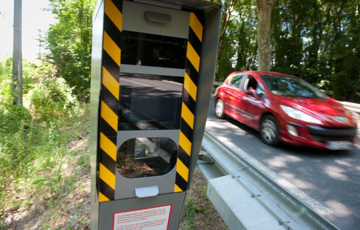 Le radar automatique contrôle la vitesse des automobilistes. (illustration) – S. ORTOLA / 20 MINUTES
