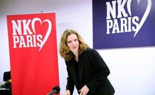 La candidate UMP à la Mairie de Paris, Nathalie Kosciusko-Morizet, lors d'un point presse le 7 janvier 2014.