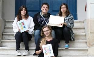 Marie Mérouze, fondatrice de la start up Marbotic, et son équipe
