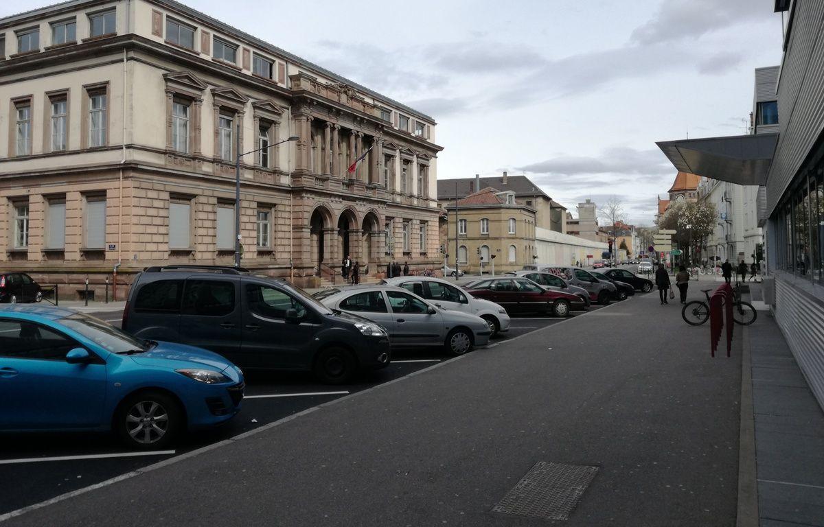 Le tribunal de grande instance de Mulhouse pilote ce programme depuis octobre 2015. – B. Poussard / 20 Minutes.