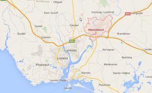 L'accident s'est produit ce dimanche matin un peu avant 6h à Hennebont dans le Morbihan.