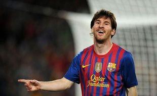 L'attaquant argentin du FC Barcelone Leo Messi a atteint samedi le chiffre symbolique de 50 buts en Liga, grâce à un quadruplé inscrit lors de la 37e journée de Championnat d'Espagne face à l'Espanyol Barcelone (4-0) au Camp-Nou