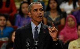Barack Obama à Kuala Lumpur le 20 novembre 2015