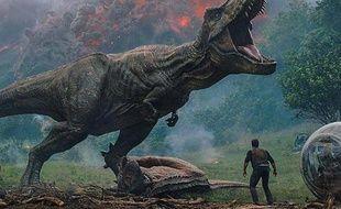 Image impressionnante extraite de la première bande-annonce de «Jurassic Word: Fallen Kingdom»