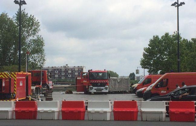 Les pompiers ont mobilisé beaucoup de moyens sur place.