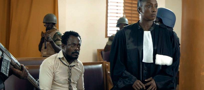 Fargass Assandé et Maïmouna N'Diaye dans L'œil du cyclone de Sékou Traoré