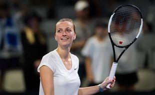Petra Kvitova lors du tournoi de Brisbane, le 7 janvier 2020.