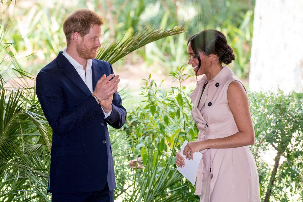 Le duc et la duchesse de Sussex, Harry et Meghan