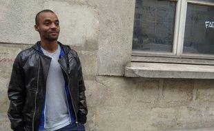 David Bellion, ici à Paris le 23 octobre 2014, évolue désormais au Red Star.