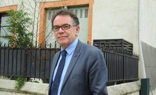 Toulouse, le 27 janvier 2015 - Le maire PS de Rodez, Christian Teyssèdre, est candidat à l'investiture PS pour être tête de file aux prochaines élections régionales