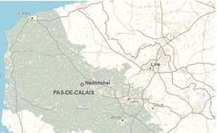 La commune de Nédonchel, dans le Pas-de-Calais.