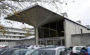 L'entrée du tribunal d'Evry le 26 novembre 2013