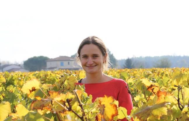 Pauline Dufour, château Simon à Barsac