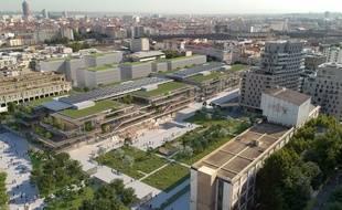 Le futur campus de l'EM Lyon entend devenir un modèle du genre qui puisse faire école.