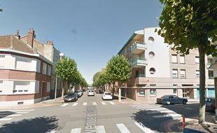Le lieu de l'accident, à Dunkerque.
