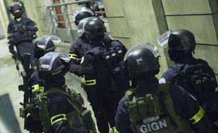 Des membres de l'unité d'élite, le GIGN, lors d'un exercice. (Illustration)