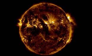 Le Soleil vu par le SDO de la Nasa.