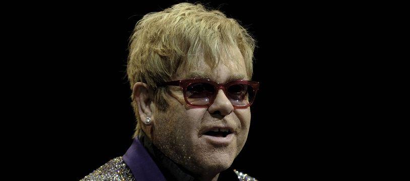 Elton John le 18 avril 2020