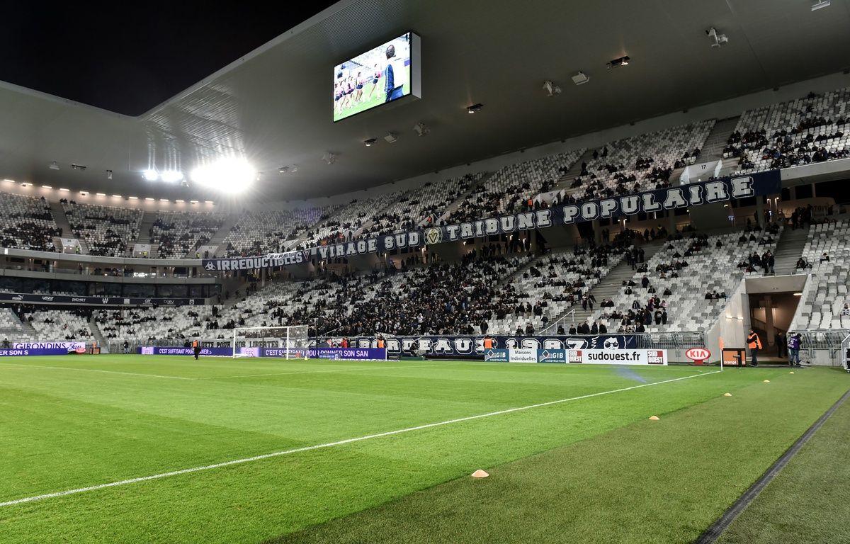 Le Matmut stadium de Bordeaux n'est pas rentable pour son exploitant. Credit:Ugo Amez/SIPA/1603091254 – SIPA