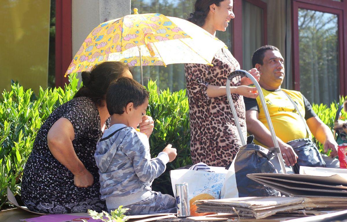 Le squat de la Poterie est évacué par les migrants le 17 juillet 2017. – C. allain / APEI / 20 Minutes