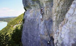 Le corps du grimpeur a été retrouvé dans la via ferrata de la Bastille à Grenoble (illustration).