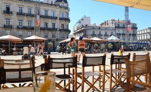 La place de la Comédie, à Montpellier.