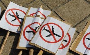 Des panneaux contre le projet d aeroport de Notre Dame des Landes.
