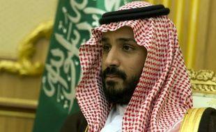 Mohamed ben Salmane, fils du roi d'Arabie et ministre de la Défense le 13 octobre 2015 à Ryad