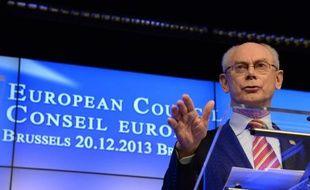 Le président du conseil européen Herman Van Rompuy a affirmé dimanche qu'il s'attendait à un redressement de l'activité économique en Europe en 2014, précisant qu'il y aura de la croissance positive partout en zone euro, à l'exception de la Slovénie et de Chypre.