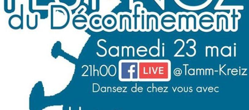 Fest-Noz en live facebook le 23 mai 2020
