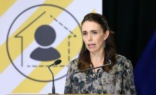La Première ministre néo-zélandaise Jacinda Ardern, le 2 avril à Wellington.