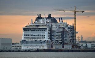 Le MSC Meraviglia, plus gros paquebot commandé par un armateur européen, doit être livré en mai.