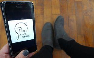 L'application Mon Soulier scanne le pied pour trouver la chaussure adaptée à sa morphologie.