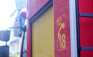 Illustration d'un camion de pompiers.