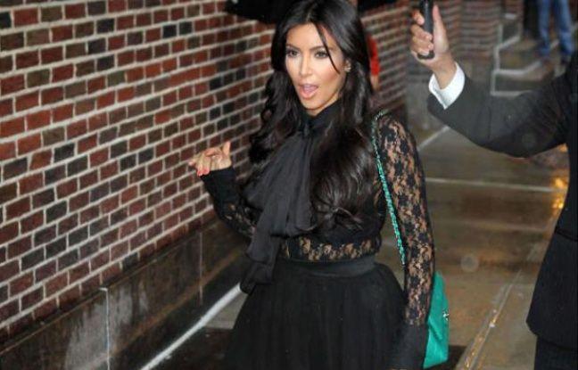Kim Kardashian, le 6 septembre 2011 à New York