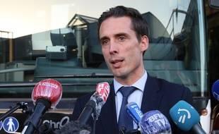 Jean-Baptiste Djebbari, le ministre délégué aux Transports, le 7 juillet 2020 à Bayonne.
