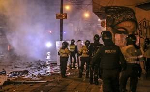 Des émeutes ont éclaté à Bogota après des violences policières, le 10 septembre 2020.